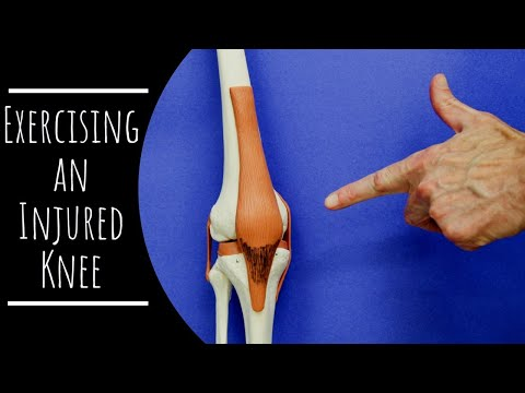 How Do I Exercise An Injured Knee?