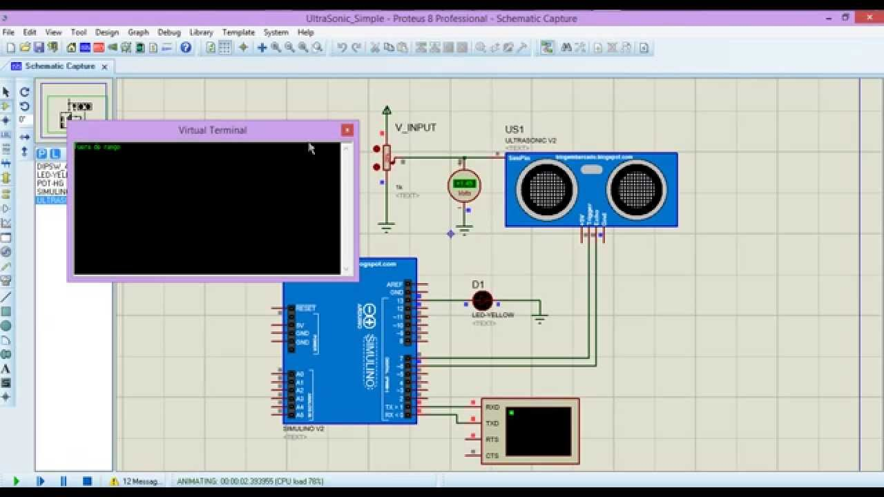 Sensor De Distancia Con Arduino I H M Youtube