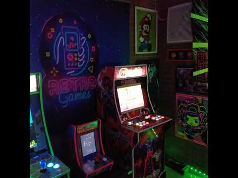 My Arcade Room from TheMiggy75