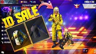 Criminal Bundle ID Sell - Free Fire | Black t-shirt I'd Sell | Break Dancer I'd Sell | Best ID Sell