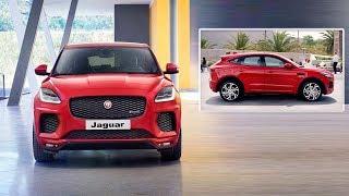 Jaguar E-Pace 2018 - Interior and exterior | New Jaguar E-Pace SUV