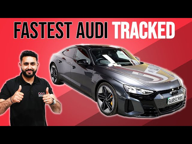 Audi's Fastest Car TRACKED?!   Audi E-Tron GT RS Tracker Installed