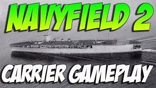 Navyfield 2 Aircraft Carrier Gameplay - IJN CV1 HOSHO