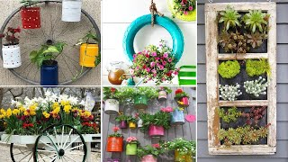 75+ Unique Container Gardening Ideas  for your garden | MY GARDEN TV