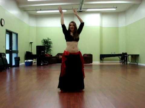 Bellydance improv - Habibi Ya Eini by Cassandra Fox