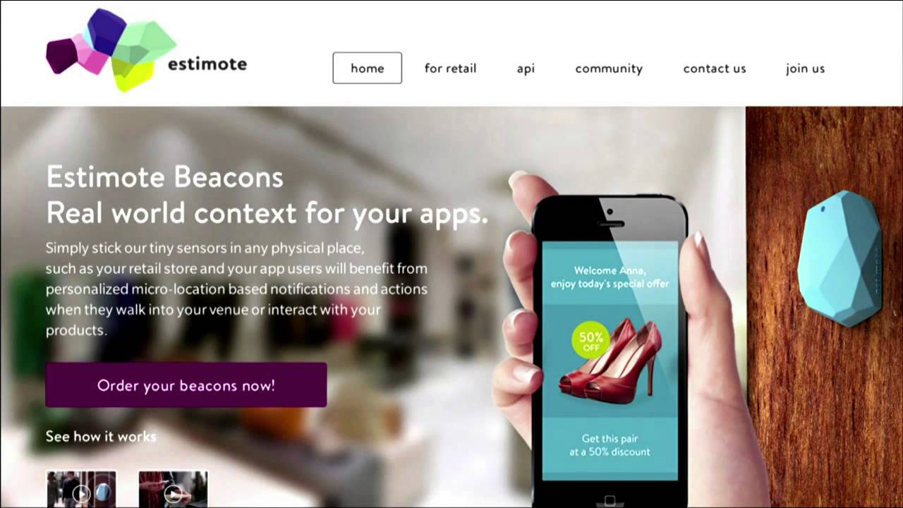 Everything Is Clickable: iBeacon Maps Your Every Move