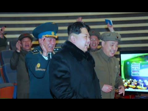 RAW: North Korea missile test backstage video, Kim full of joy