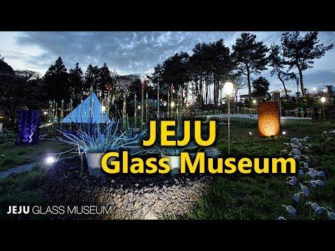 Jeju glass museum tourist attraction in jeju south korea
