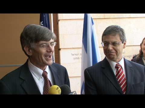 US-Israel Strategic Dialogue: DepSec James Steinberg & DFM Danny Ayalon