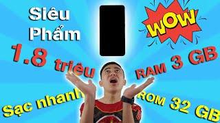 Điện thoại siêu rẻ 1.8 triệu: RAM 3GB, màn siêu đẹp, sạc nhanh