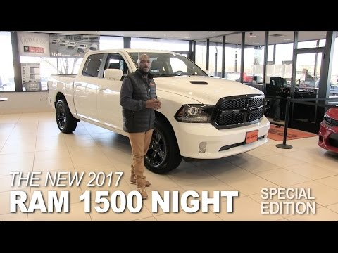 New 2017 Ram 1500 Night - Lakeville, Bloomington, Burnsville, Minneapolis, St Paul, MN Review