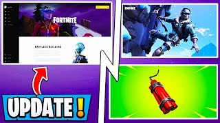 *NEW* Fortnite Update Tomorrow! | Beta Launcher, Snow Mountain, Dynamite!