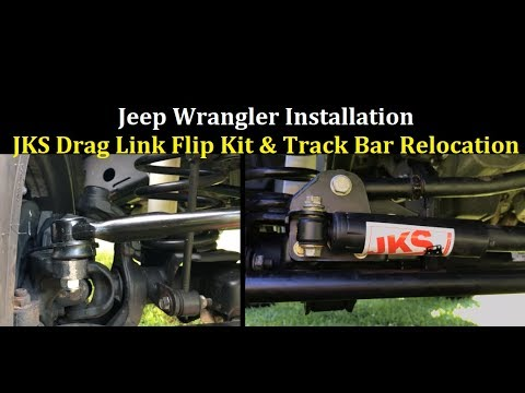 How to Install JKS Drag Link Flip Kit Jeep Wrangler JK JKU