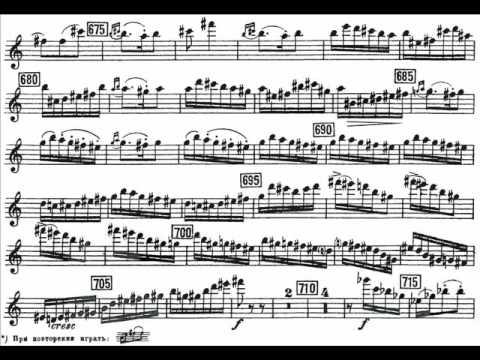 Khachaturian, Aram mvt3 violin concerto Allegro vivace