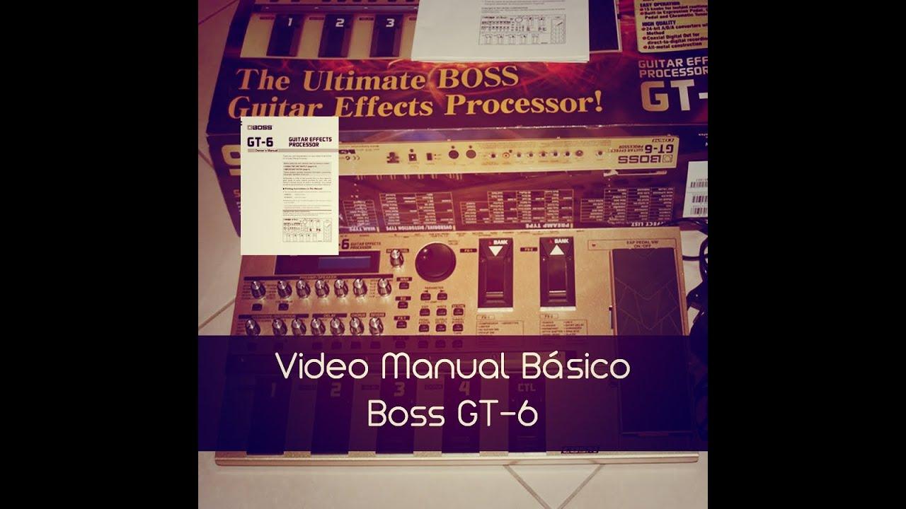 roland gt6 gt 6 boss bossgt6 complete service repair manual