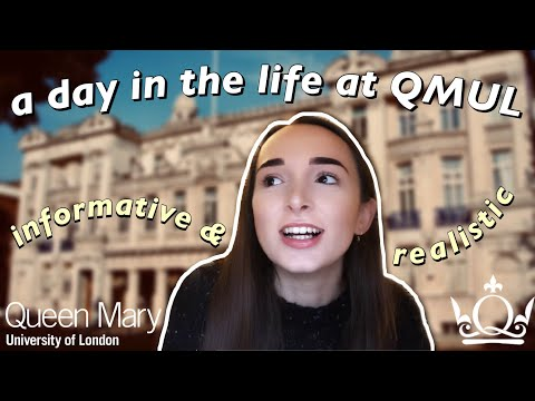 DAY IN THE LIFE OF A LONDON UNI STUDENT | Queen Mary, University Of London