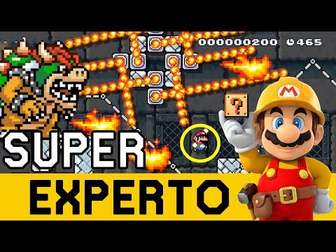¡UN COMIENZO ESTRESANTE! JAPO TENÍA QUE SER 🙃 - SUPER EXPERTO NO SKIP | Super Mario Maker - ZetaSSJ