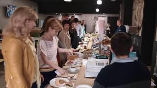 Смотреть видео Что привлекает людей в бизнес-центре «Смольная 24» онлайн