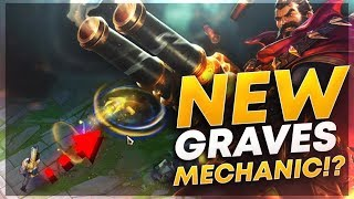 NEW GRAVES TIPS/MECHANICS?! -  League of Legends