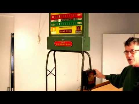 Lovely The RockOla Shuffleboard Table: Antique Score Unit