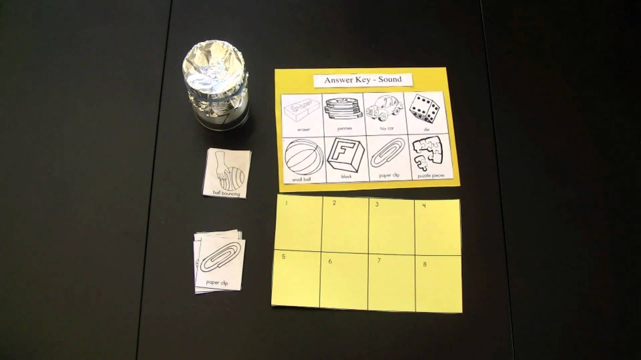 Five Senses Worksheets Youtube