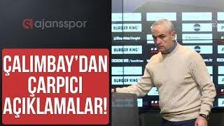 Rıza Çalımbay, Abdulah Avcı'yı isim vermeden hedef gösterdi I Beşiktaş'ı Beşiktaşlılar çalıştırmalı