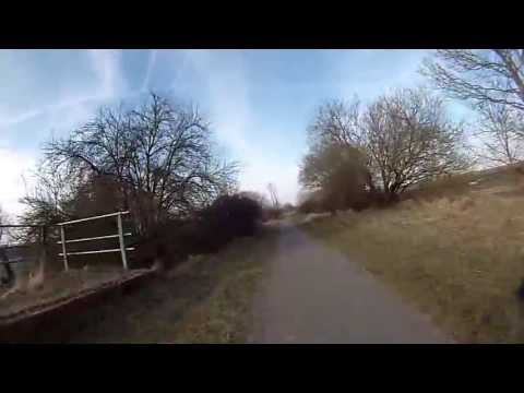 Cycling from Didcot to Harwell Campus via route 44