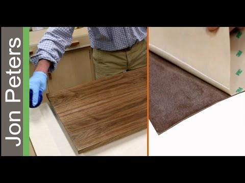 Peel Stick Veneer How To Use Pressure Sensitive Veneer