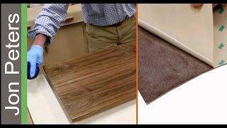 Peel & Stick Veneer, How to use Pressure Sensitive Veneer