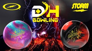Storm Electrify Hybrid and the Electrify Pearl  | Video Ball Review By DH Bowling