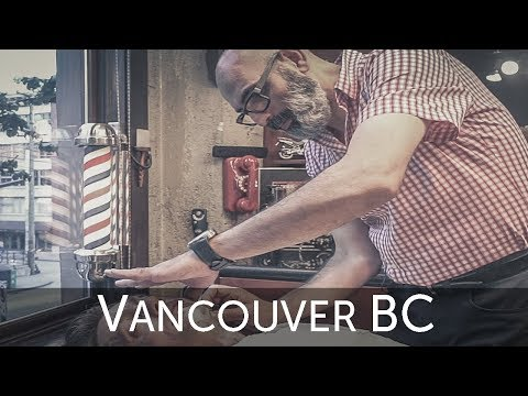"💈 Farzad ""The Happy Barber"" Deluxe Hot Shave - Vancouver BC"
