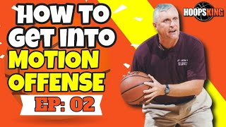 🏀How to Start & Get into Motion Offense for Basketball | Bob Hurley Sr.🏀
