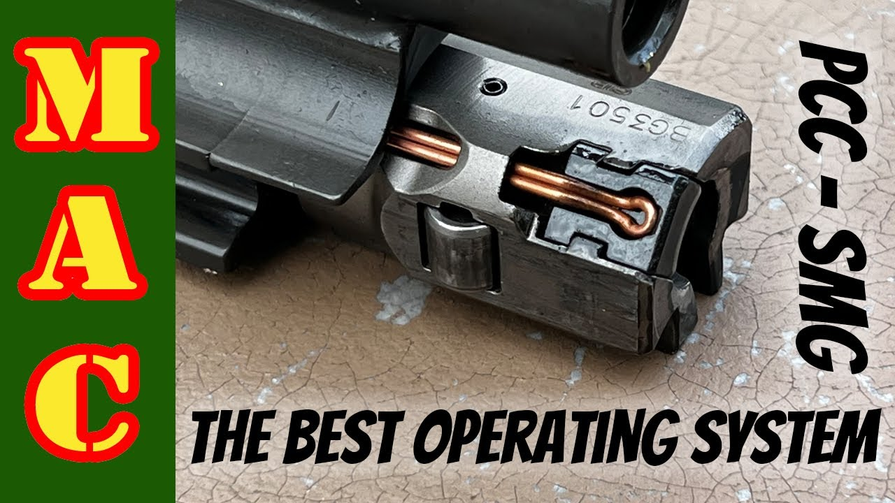 The best PCC Operating Systems: Blowback, roller-delayed, gas, radial delayed.