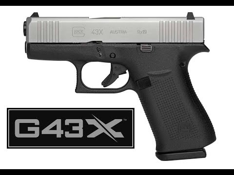 The Glock 43X, Perfecting Concealed Carry?