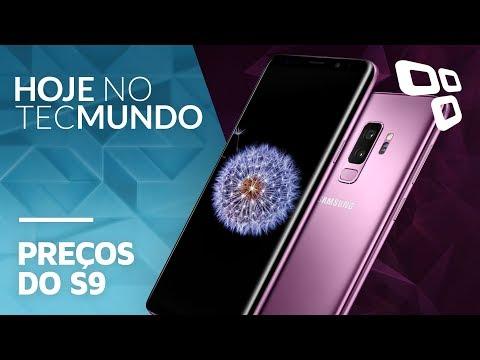 Possíveis preços do S9 e S9+, golpe de Páscoa no Whats e mais - Hoje no TecMundo