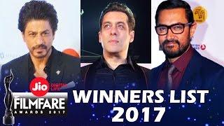 Jio Filmfare Awards 2017 Full Winners List Best Actor, Best Actress...