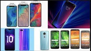 iPhone 9 , 9 plus & XI, Motorola G6 y E5 series,  LG G7q, Bajas ventas iPhone,