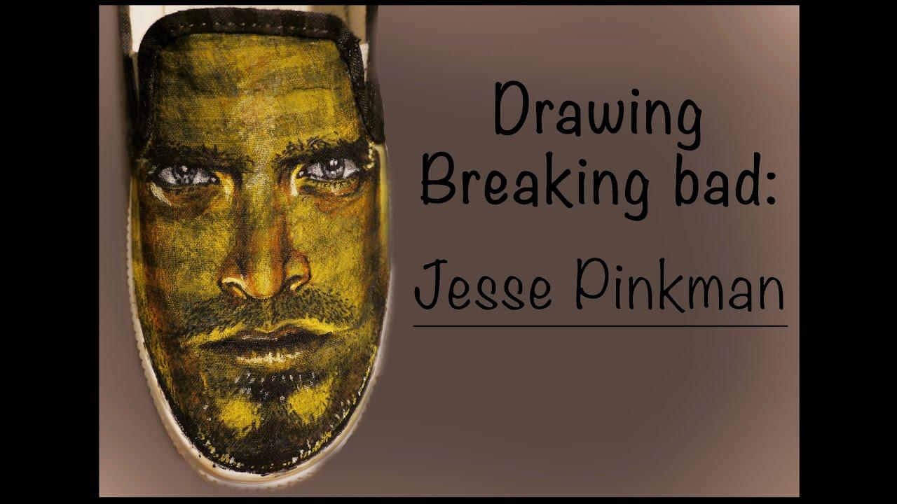 Drawing Breaking Bad shoes: Jesse Pinkman - YouTube