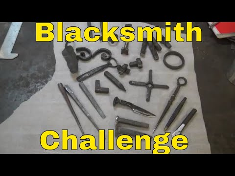 Blacksmith challenge , revisting an idea to stretch your imagination