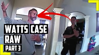 Police Officers Search Watts Home, Then Question Chris Watts - RAW Police Body Camera Footage