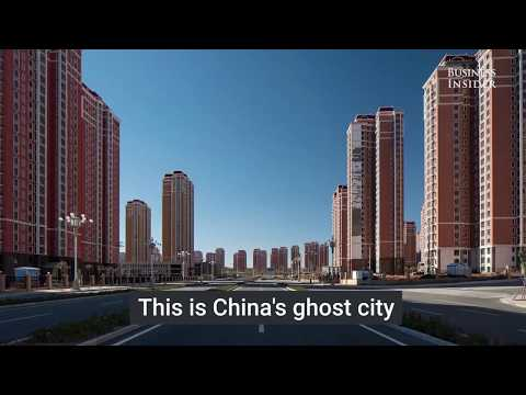 Ordos New Town, China's largest ghost city