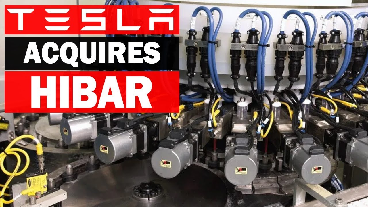 Tesla Acquires Battery Manufacturer Hibar