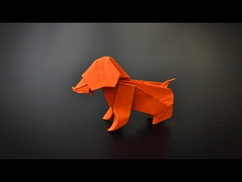 Origami Little Dog Instructions In English Br Youtube