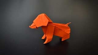 Origami: Puppy Dog - Instructions in English (BR)