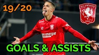 Aitor Cantalapiedra | GOALS & ASSISTS | 19/20 | Welcome to Panathinaikos FC YouTube Videos