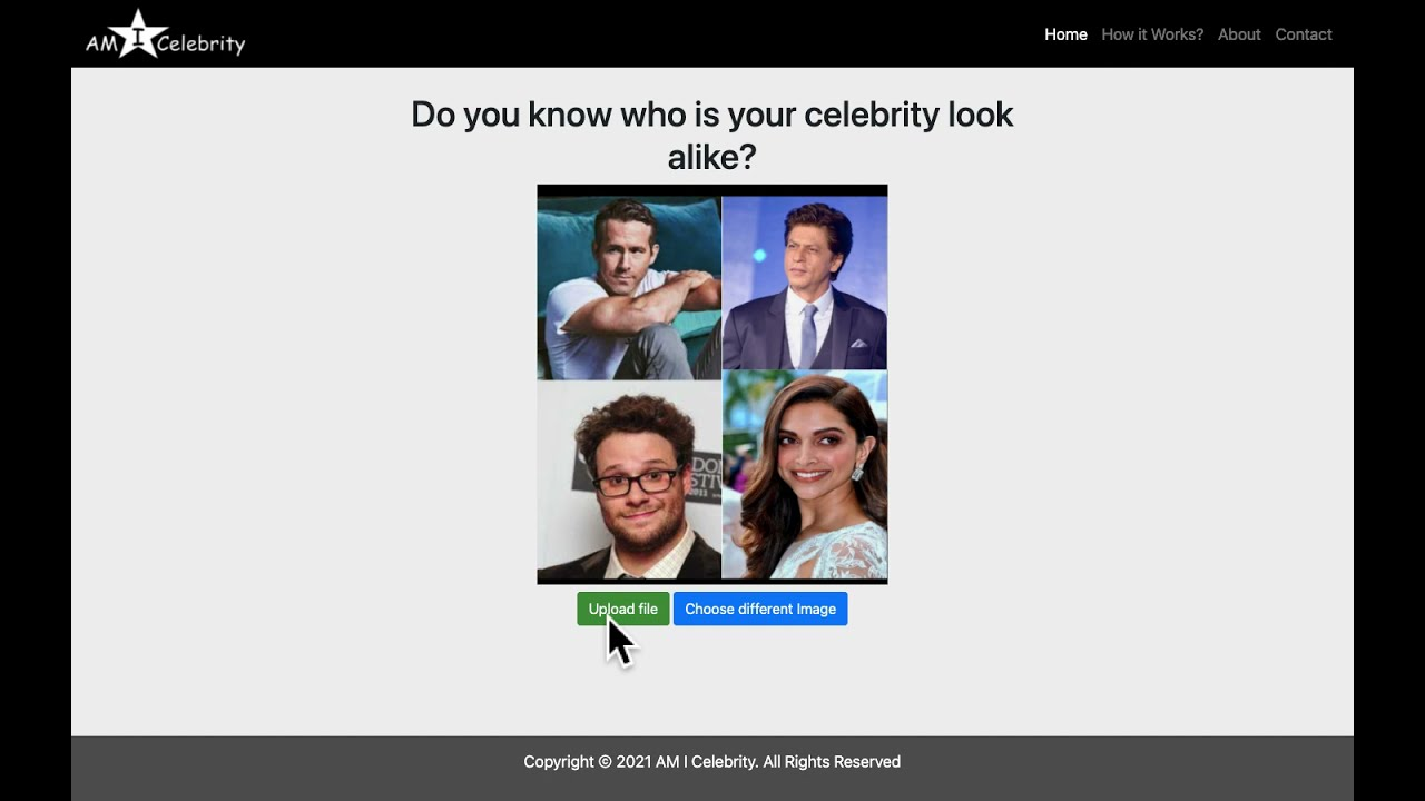 Who is your celebrity match