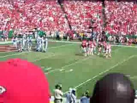 Priest Holmes touchdown 2005