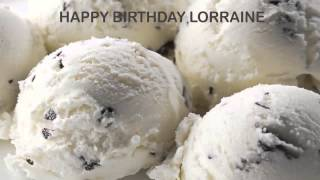 Lorraine   Ice Cream & Helados y Nieves - Happy Birthday