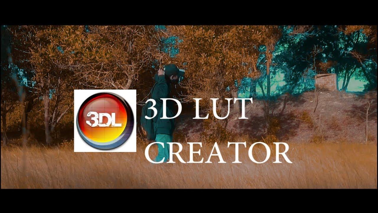 3d lut creator 1.52 crack