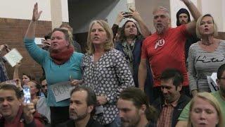 Protesters disrupt GOP gathering in Utah